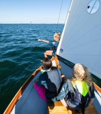 Öppen segling vid Tullingesjön